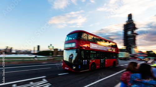фотография The Red Busses of London