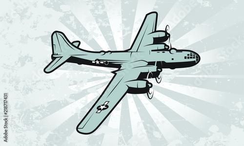 Fényképezés Strategic Heavy Bomber Aircraft