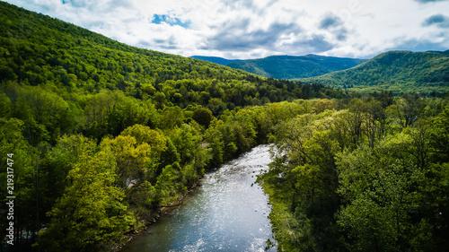 Fotografie, Obraz Esopus River
