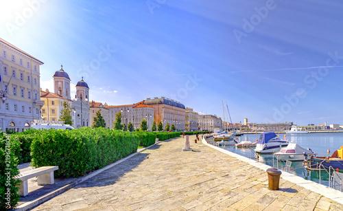 Obraz na płótnie Trieste Italy by Adriatic sea