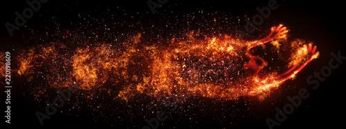 Fotografia Ghost of fire