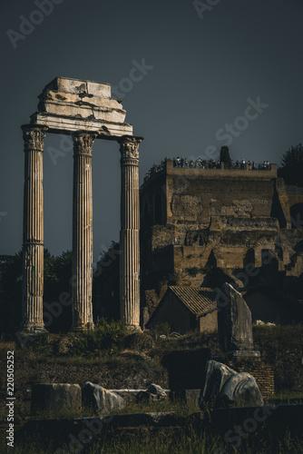 Fényképezés Ancient Rome in Italy, Colloseum and Roman forum