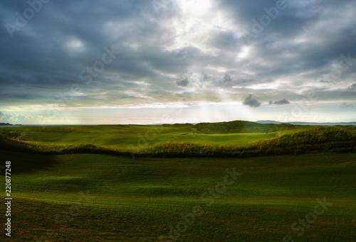 Obraz na plátne Heavenly on the Golf Course
