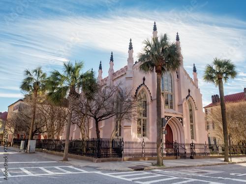Fotografia French Huguenot Church in Charleston, South Carolina