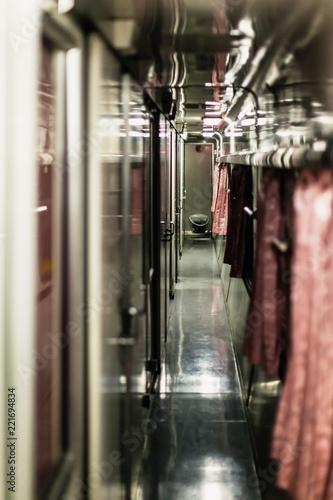 Fotografia Thai train interior