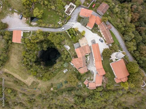 Fotografie, Obraz The Skocjan Caves / Skocjanske jame / Grotte di Skocjan is the largest cave in Europe on UNESCO list