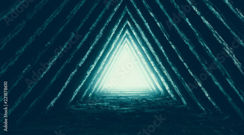 Photo Unknown temple of destiny illustration