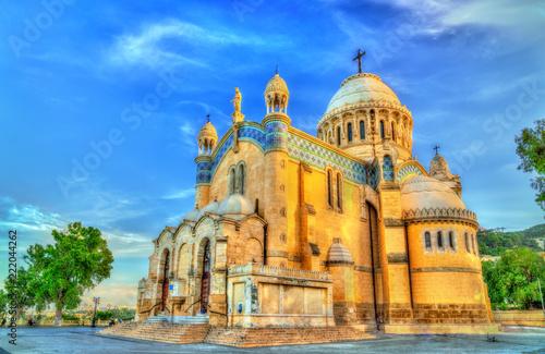 Our Lady of Africa Basilica in Algiers, Algeria