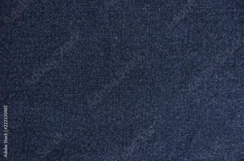 Canvas Print Navy blue denim texture