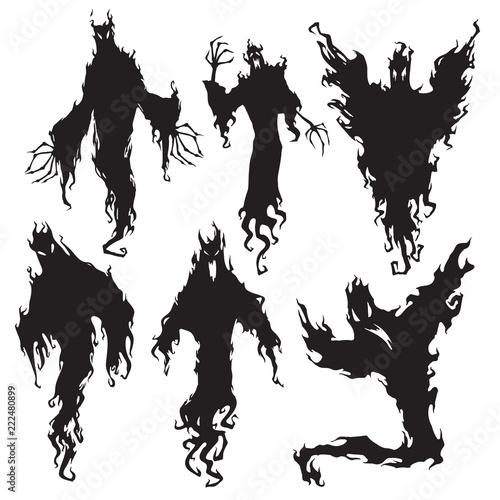Evil spirit silhouette Tapéta, Fotótapéta