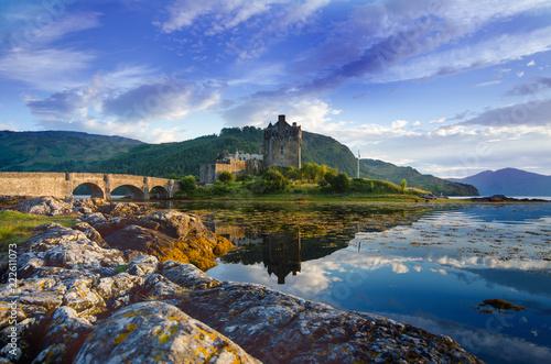 Obraz na płótnie Tourists favourite place in Scotland - Isle of Skye
