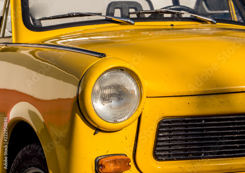 Obraz na plátně Trabant Cabriolet Oldtimer