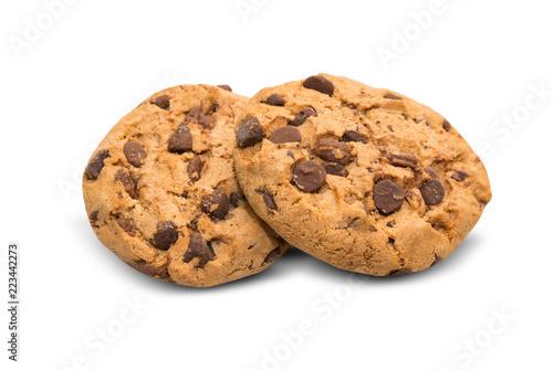Photo Chocolate chip cookie