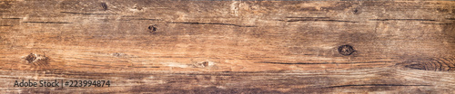Photographie Vintage wood texture, long isolated plank background, rustic rough barn board
