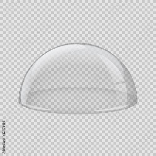 Leinwand Poster Transparent glass cover