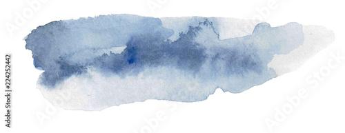 Fotografie, Obraz Watercolor Swash Backgrounds