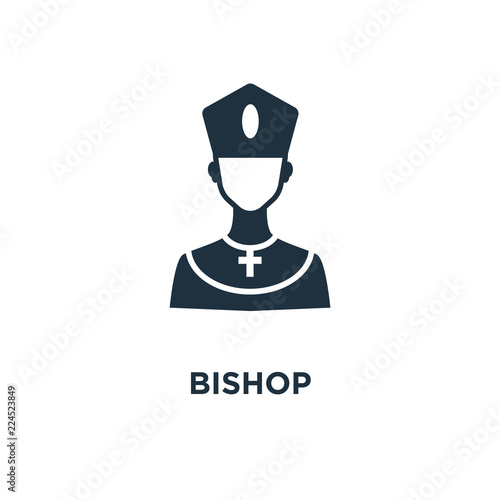 Obraz na plátne bishop icon