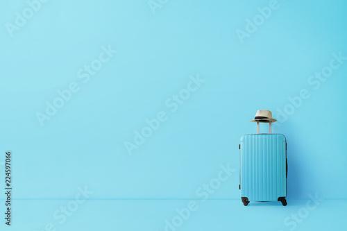 Stampa su Tela Ready to go, travel concept