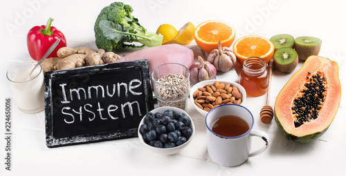 Health  food to boost immune system