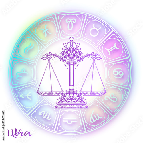 Obraz na plátně Zodiac sign