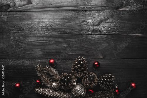 Naklejka na szafę Dekoracja świąteczna