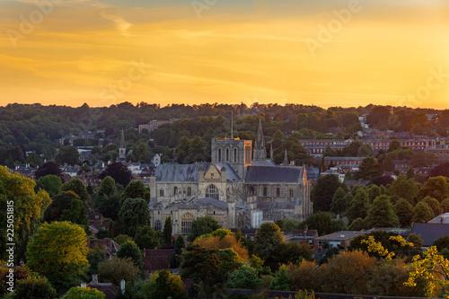 Obraz na plátně Winchester Summer Sunset