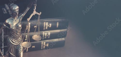 Fotografia Legal law concept image horizontal banner style