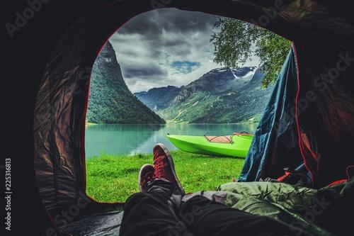 Fotografija Scenic Tent Spot in Norway
