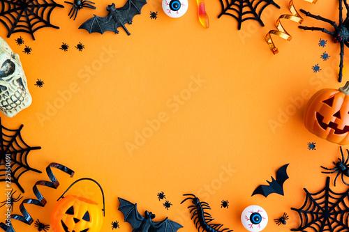 Halloween party border
