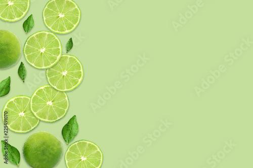 Pattern of citrus fruits Fototapeta