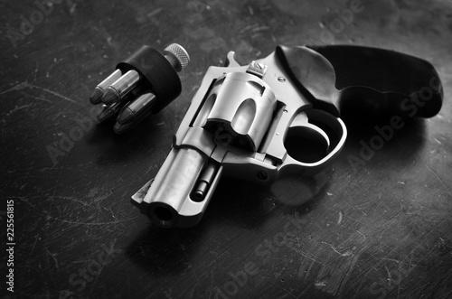 Canvas Print Handgun Pistol Conceal Carry Personal Protection Defense