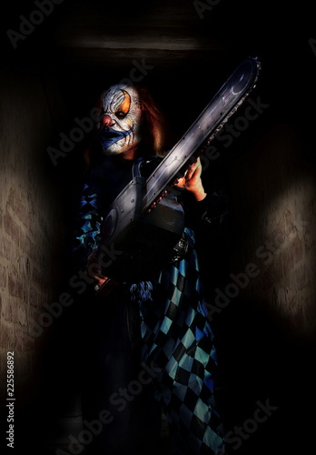 Obraz na płótnie horror scary clown