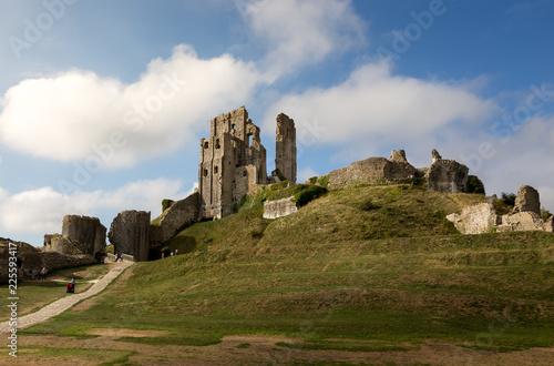Obraz na plátně Corfe Castle, England