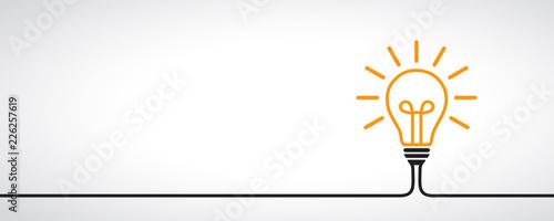 Fotografering Idea, creative concept sign bulb - vector