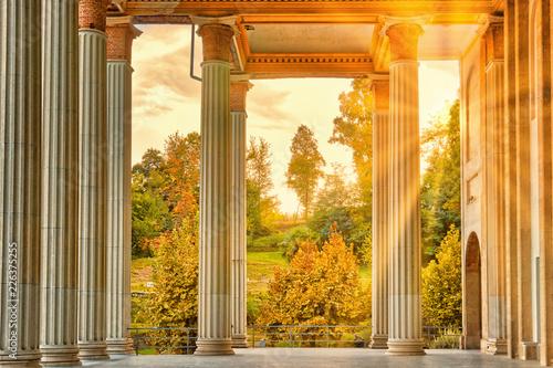 Canvas-taulu Il colonnato del Santuario di Boca