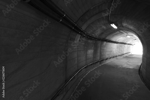 Light At The End Of Stone Tunnel