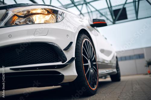 фотография Modern hatchback front