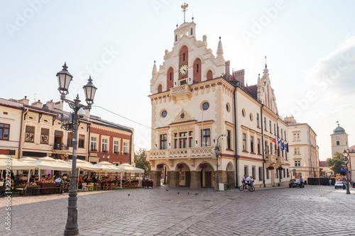 Renesansowy Ratusz Miejski na Starym Rynku w Rzeszowie