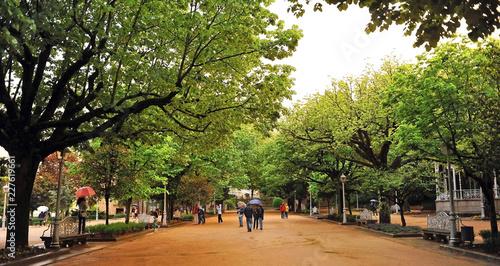 Fotografia Parque de la Alameda, Santiago de Compostela, Camino de Santiago, España
