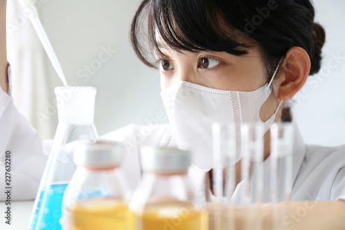 Canvastavla 実験する研究者