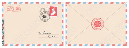 Fotografia Dear santa claus mail envelope
