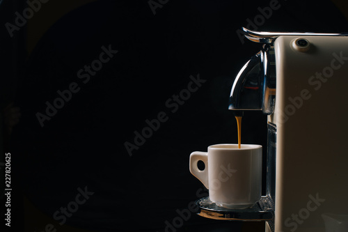 Fotografiet Coffee machine with capsule