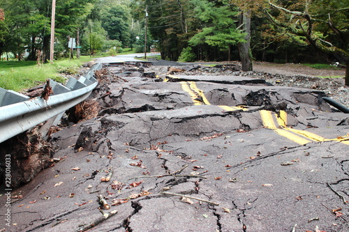 Fotografie, Obraz Destruction Flood Damaged