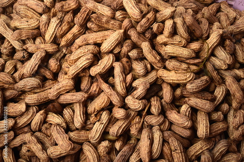 close up of boiled peanut for background