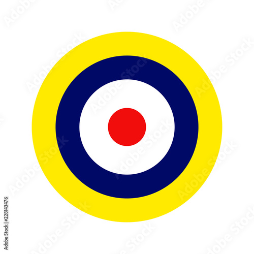 Fotografia Royal Air Force roundel. Type A1