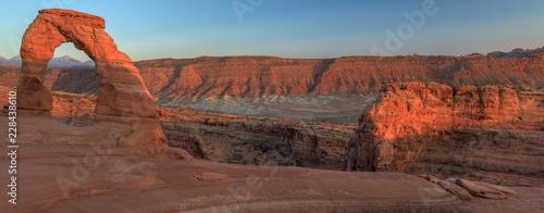 Fotografie, Obraz Delicate Arch Panorama, Arches National Park, USA