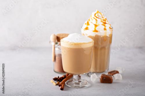 Tableau sur Toile Pumpkin spice latte