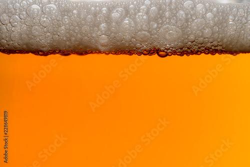 IPA Craft Beer bubbles background texture Fototapeta