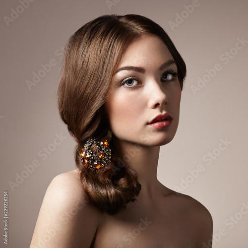 Valokuva Portrait of young beautiful girl