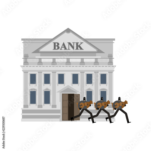 Photo Bank robbery